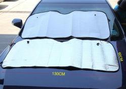 O logotipo personalizado em folha de alumínio Dobrável Isolamento Cortinas Parasol UV para carro