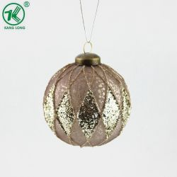 Классические рождественские украшения украшение стеклянные шарики