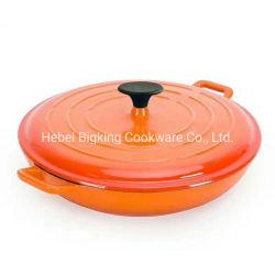 L'émail casserole en fonte Ustensiles de cuisine ensemble pot de la cuisine de fruits de mer
