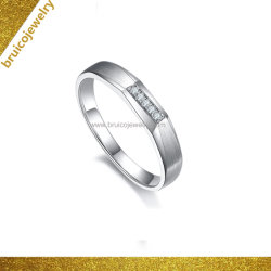 Gostavas de ouro jóias com diamantes homens brancos Dourados Fashion 925 Bodas de Prata Anel O