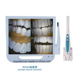 ワイヤーで縛られるを用いるLCDの監視テレビの歯科Intraoralカメラ