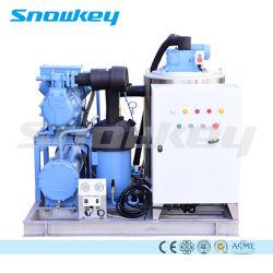 سنوكي طن واحد/يوم إلى ماكينة ثلج بمقياس الشعلة التجارية 60 طن/يوم صانعة مياه البحر العذبة
