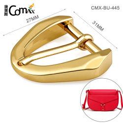 La Chine fournisseur Sac en alliage de zinc de l'or Fashion Ceinture boucle en métal, de conception écologique 31mm broche boucle en métal