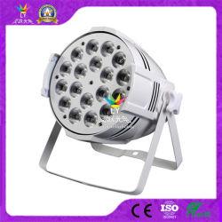 La Chine scène disco dj Light PAR, vous pouvez LED 18pcs 10W