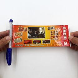O logotipo personalizado cunho Pavilhão Dom Caneta Mensagem puxar papel Banner da promoção de feltro