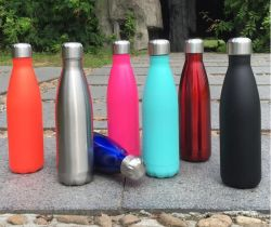 500ml 3D en acier inoxydable d'impression UV Cola bouteille d'eau