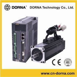 750W 80mm van de Flens Brushless AC ServoMotor van Dorna voor Werktuigmachines
