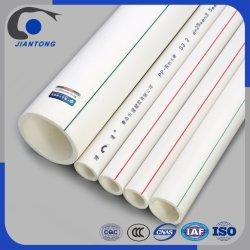 20mm-160mm estándar DIN PPR Tubo para el suministro de agua fría y caliente con resistencia a la corrosión