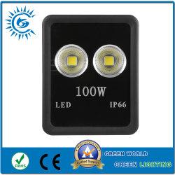 광장용 표준 내보내기 포장 100W LED 플러드 라이트