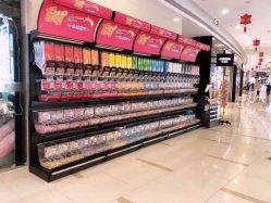Tienda de caramelos de la pantalla de alta calidad utiliza estanterías, muebles de tienda de caramelos, dulces, guarde el equipo