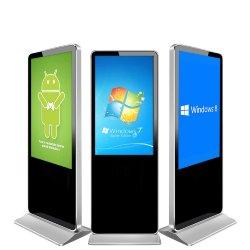 50 pouces à écran plat LCD Slim Manufacture piédestal Digital Signage/LCD de la publicité pour l'exposition/hôtel/affichage commercial