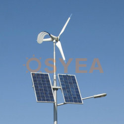 Straßenlaterne-hybrides WegRasterfeld Energie Energie-System der Osyea Wind-Turbine-Solar-LED
