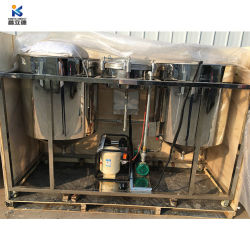 Mini olio vegetale usato del filtrante di fabbricazione dell'estrazione materiale da otturazione che rende a macchina l'olio da cucina della raffineria commestibile