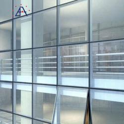 장식용 글레이징 Perforated Aluminum Alloy Profile Cladding Curtain Wall Panel