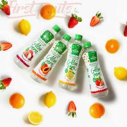 500ml Aloe Vera Jus de fruits avec des produits frais de l'Aloe pulpes---OEM
