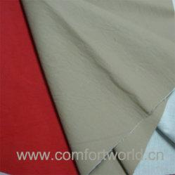 قماش من الجلد الجاف المصنوع من البولي يورثان لباريل والملابس