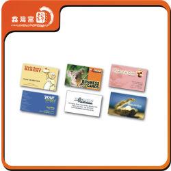 Todos os tipos de cartões de visita Letterpress Estilo caso