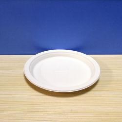 """8つの"""" 6/7/8インチTrp-03の最も売れ行きの良い製品の使い捨て可能な生物分解性のプラスチック円形の版"""
