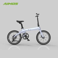 Peso ligero, portátil bicicleta eléctrica de la ciudad de bastidor de fibra de fibra de carbono mini bicicleta eléctrica mayorista Ebike