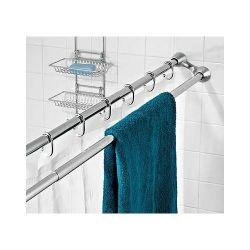 Des tringles à rideaux de douche double