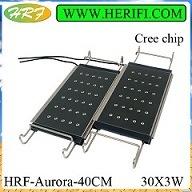 alto potere AC100-240V Full Spectrum Dimming LED Aquarium di 60W -1200W