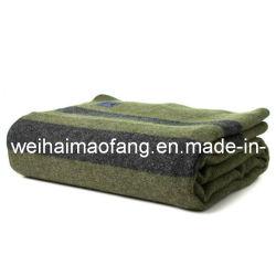 100%Militares de lã /manta de lã tecidos do Exército
