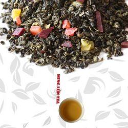 De Chinese Groene Thee van het Fruit met het Geassorteerde Aroma van het Fruit (4 gemengd Fruit)