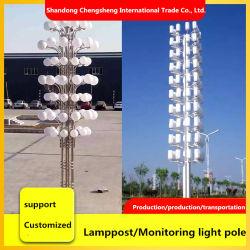 Luce a LED per illuminazione stradale da 6 m 7 m 8 m 9 m 12 m. Box Solar Street Light