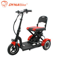 De kleine Autopedden van de Mobiliteit passen een Boomstam van de Auto aan