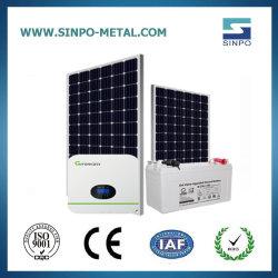 Los soportes de montaje PV de acero galvanizado Sistema de Energía Solar
