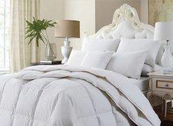 寝具類の内ダックフェザーの羽毛布団 / コットングースダウンキルト