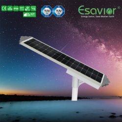 5000lm IP66 водонепроницаемый 50W встроенный солнечного освещения улиц датчик движения Iot пульт дистанционного управления - все в одном производитель Ce TUV RoHS IP66