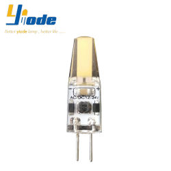G4 1505COB 2W 12V 24V Dimmable LED 전구는 G4 할로겐 램프를 대체한다