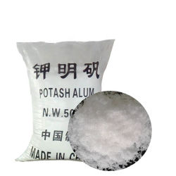 CAS 7784-24-9 كبريتات الألومنيوم البوتاسيوم