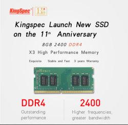 Mémoire DDR4 de haute qualité 2400 1,2V 8 Go de mémoire SO-DIMM
