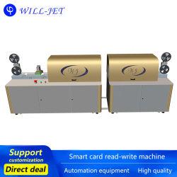 بطاقة IC بطاقة مغنطيةمعدات الطباعة ملاحق تلقائية Writerdod-UV جهاز الكشف inkjet Printersmart Card