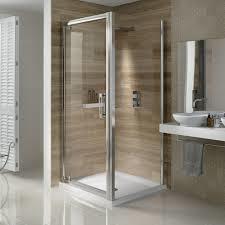 Camera portatile con doccia Voyeur e clip senza vetro temperato scorrevole trasparente