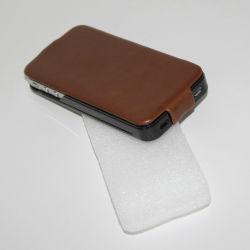 Estojo de couro de cores para iPhone 4S