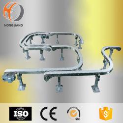 Ligação flexível de alta qualidade Transportador de Corrente/transportador de corrente flexível para a indústria alimentar