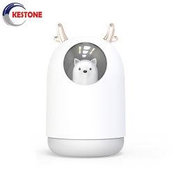 Humidificador de aire de coche USB Mini portátil difusor de aroma de la habitación Humidificador Logotipo personalizado
