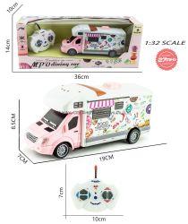 4 CH Luz Controle Remoto Carro tema RV Bonitinha Veículo RC Car para a rapariga e rapaz Dom