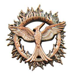 Las insignias de impresión personalizadas no hay pedido mínimo para el emblema de metal artesanía