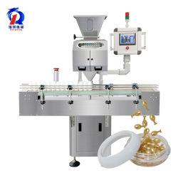 8 Compteur automatique de canal Vibration Softgel PHARMACEUTIQUE Gélule pilule Comprimé de comptage et de Machine de remplissage de bouteilles