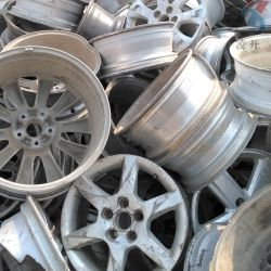 Chatarra de aluminio/cobre chatarra para la venta/chatarra metálica //Rueda de aluminio