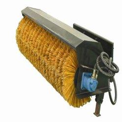 La construction de la machine, petit chargeur, mini-chargeur, balai orientable pour chargeur de patin