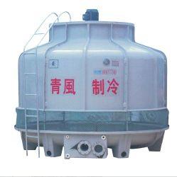 La Ronda de FRP torre de enfriamiento de agua para la industria de plástico