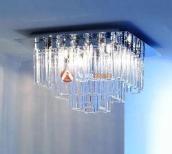 De simples petits des lustres en verre sont idéales pour les chambres ou de bureaux