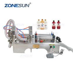 Zonesun Zs-Yt2 2 Cabezas de Jabón Líquido Alcohol Desinfectante de Manos Dispensador de Gel Máquina de Llenado de Botellas