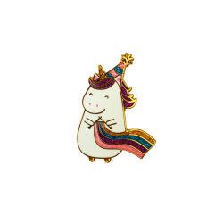 Прелестная мало моря лошадь имитация эмали значка