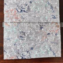 Impressão de tecido tricotado Jacquard Lace Poliéster Vestuário Têxtil